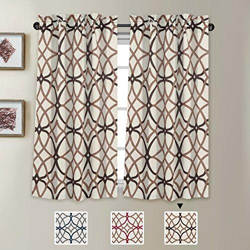 H.VERSAILTEX Window Treatment Curtain Tiers - Pair of Home D