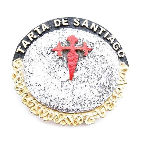 JIACUO Imán de Nevera de Resina 3D Taiwán Brasil Chile España ...