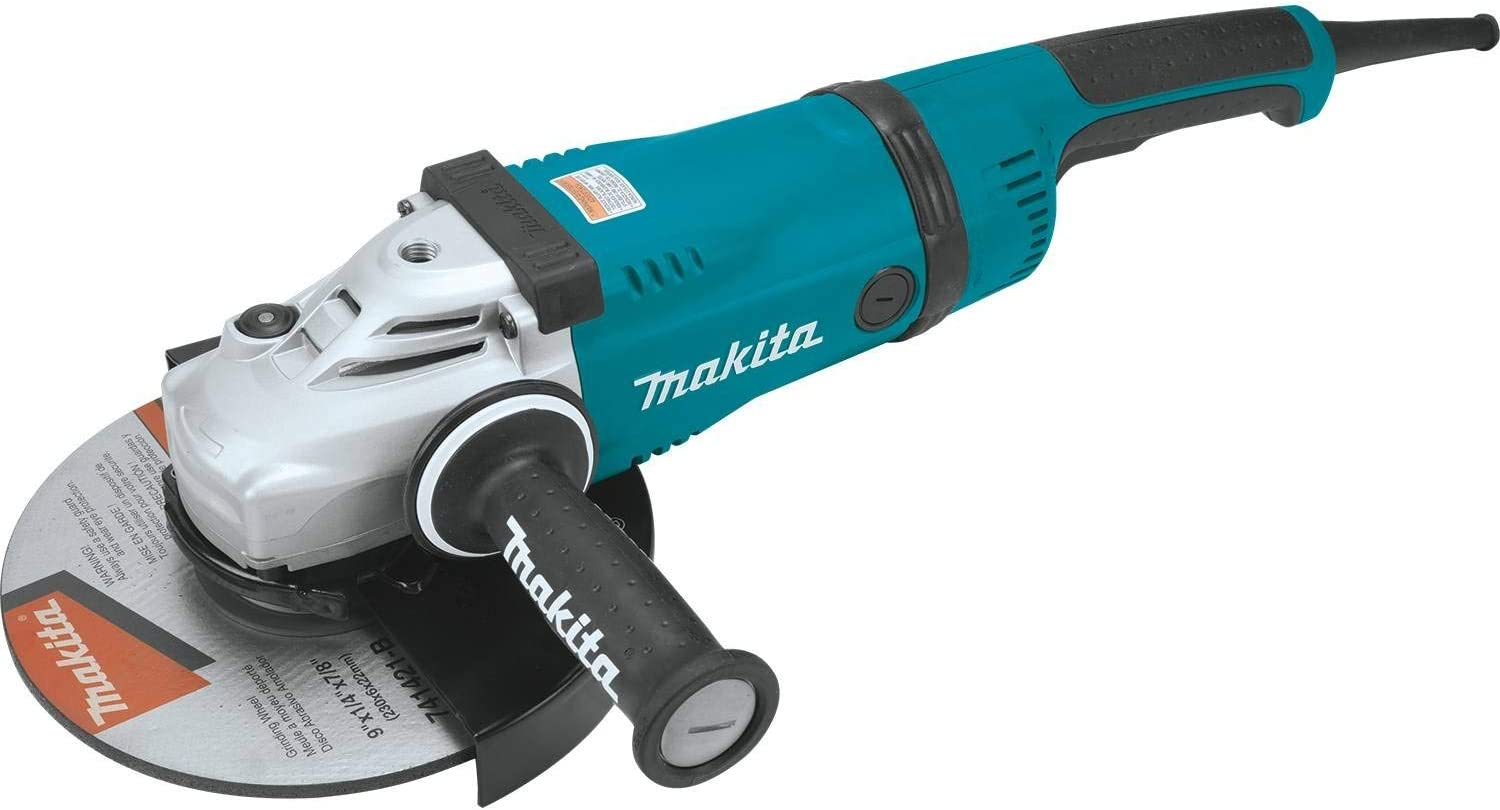 Makita GA9040S 9-Inch Angle Grinder Soft Start Technology