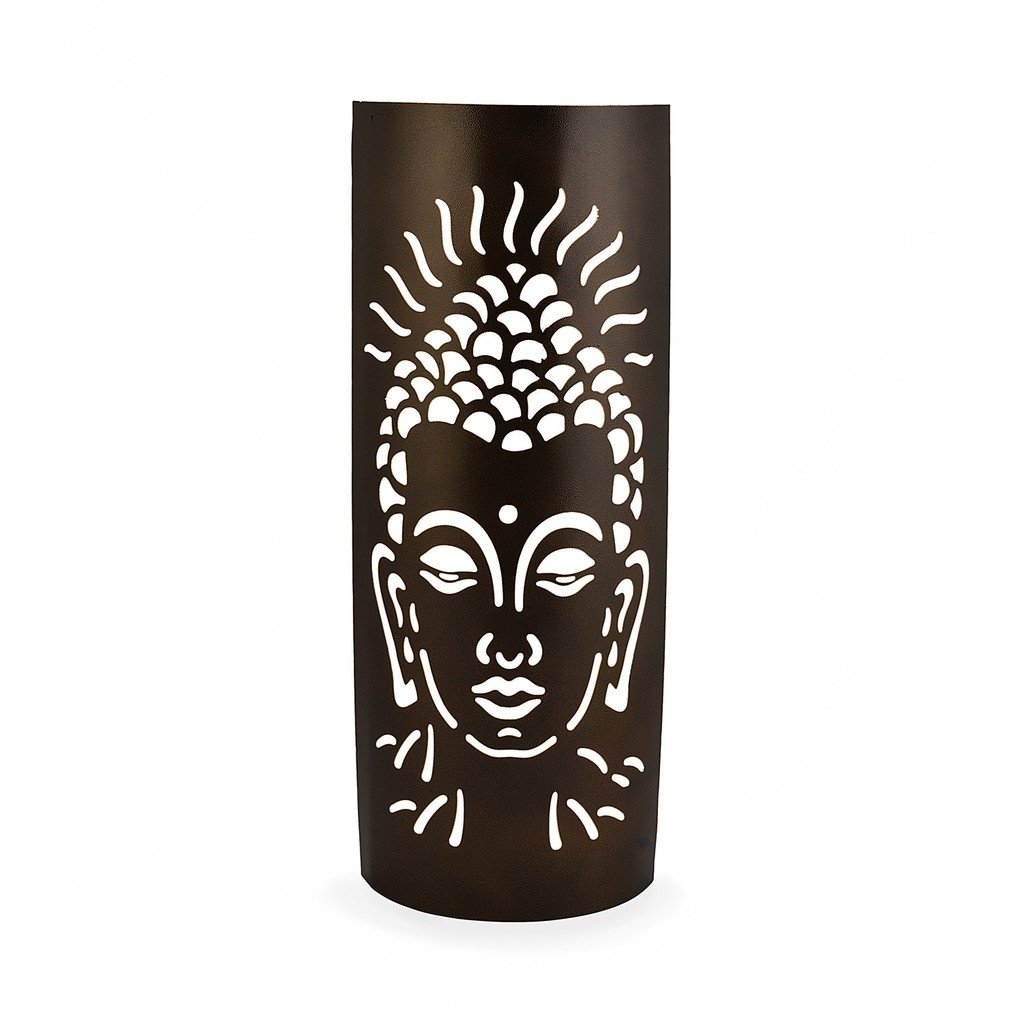 Yellow Door The Antique Decorative Buddha Wall Lamp Shade Cover Home Décor Bronze