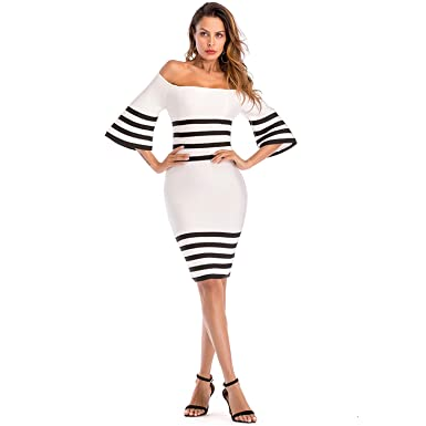 b7a4aa91fad5 ADYABY Bodycon Dress for Wedding Birthday Host Party fit for 20 Years Old  up Women,