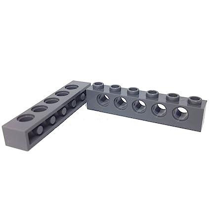 "Lego Parts: Technic Brick 1 x 6 with ""5-Holes"" ("