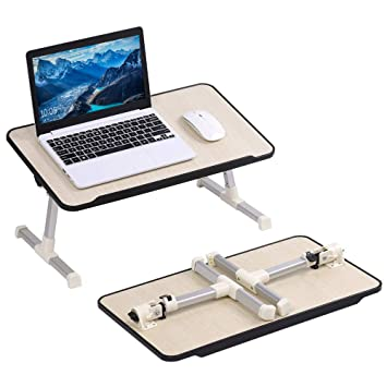 Wondrous Liantral Laptop Table Stand Adjustable Laptop Bed Tray Table Portable Standing Desk Foldable Sofa Breakfast Tray Notebook Stand Reading Holder For Evergreenethics Interior Chair Design Evergreenethicsorg