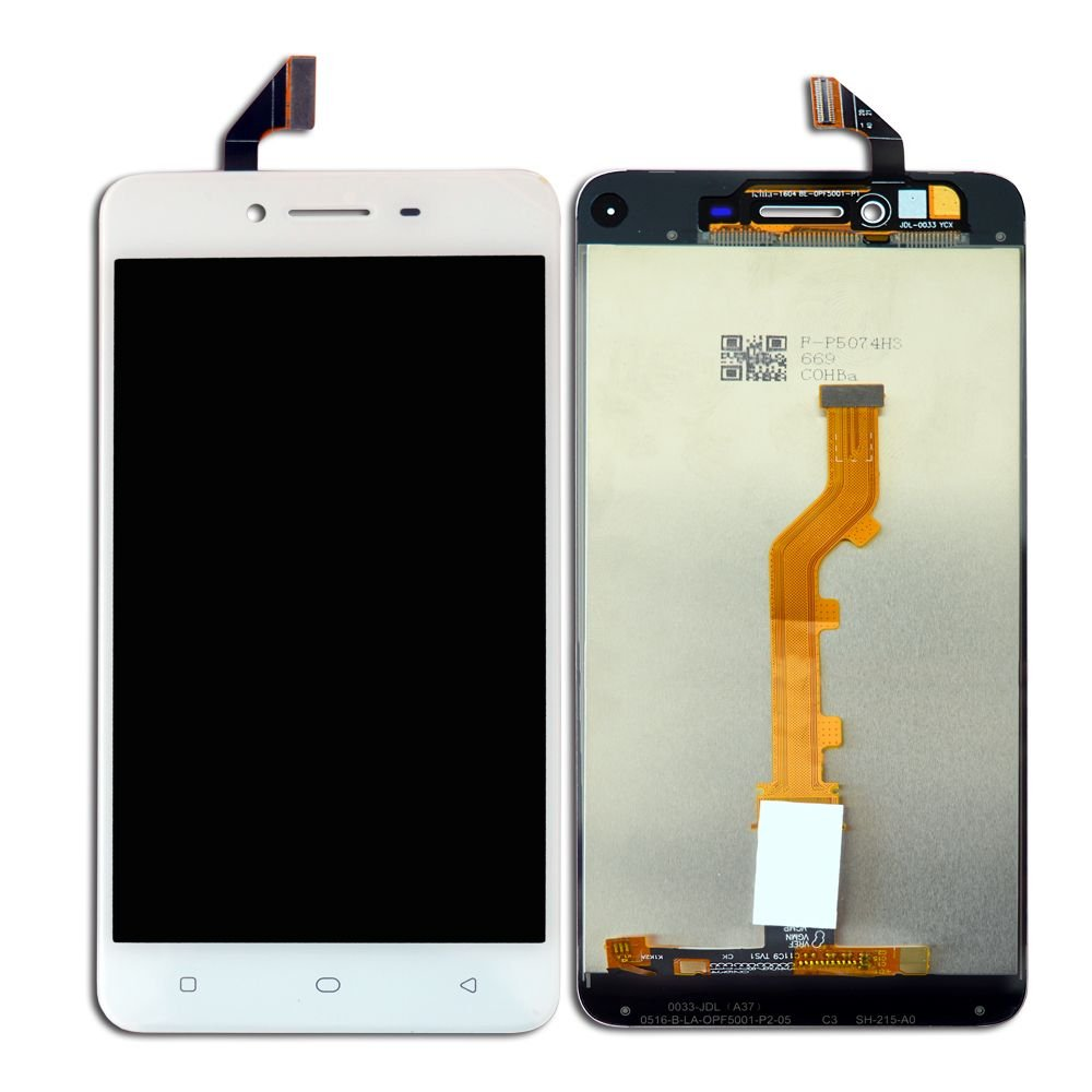 RPATEL FOR OPPO A37/A37F IPS LCD DISPLAY WITH TOUCH SCREEN DIGITIZER GLASS  COMBO,COLOUR WHITE