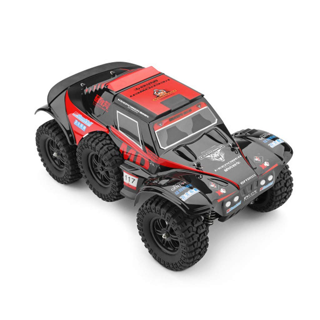 Hot  Wl 540 Brush Motor RC Off-Road Car 1:12 2.4G 4WD 60km/h High Speed Radio Remote Control Car Racing, RC Car Toys for Kids Age 8+ (red) by Hisoul (Image #4)