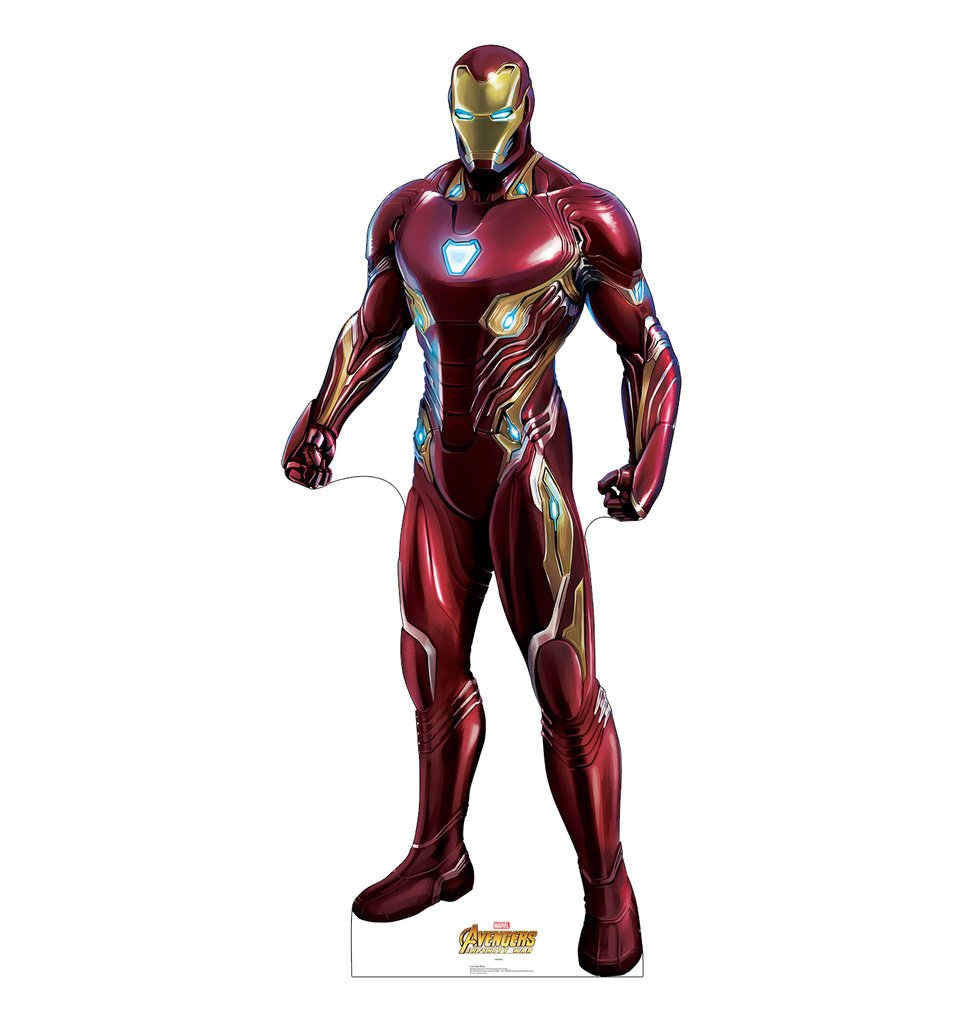 Iron Man - Marvel's Avengers: Infinity War (2018 Film) - Advanced Graphics Life Size Cardboard Cutout Standup by Advanced Graphics
