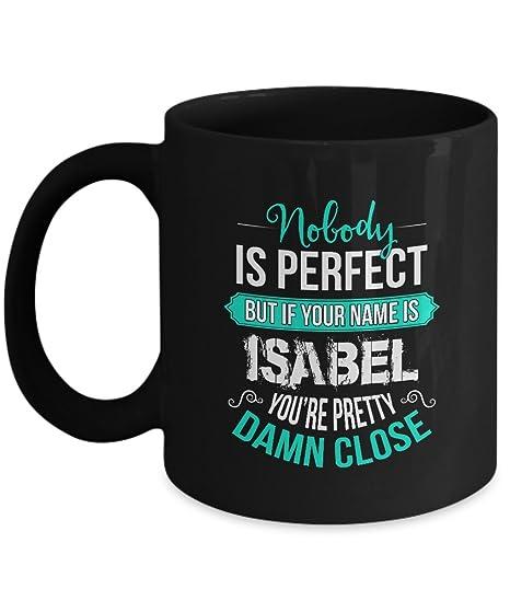 Amazon.com: Personalizado – taza de cerámica nombre es ...
