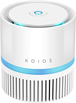 Koios Desktop Air Purifier with True Hepa Filter