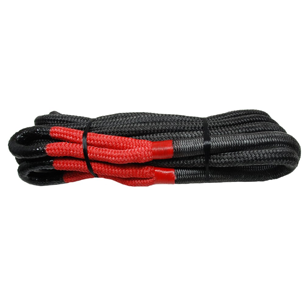 Pro-Rope Heavy Duty Tow Rope with Standard Red Eye 3/4 inch x 30 ft Length 18700 lbs Capacity Shenzhen Bermu International Trading Co Ltd