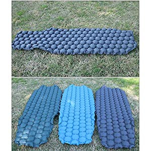 Forall-Ms Self-Inflating Sleeping Mat Single, Camping Mat Inflatable Mattress Ultralight & Compact Camping Sleeping Pad for Hiking,Tent,Sleeping Bag,Green-L