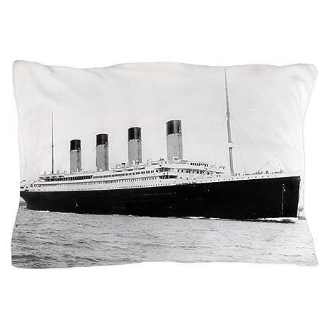 Amazon.com: CafePress – Titanic – Funda de almohada de ...