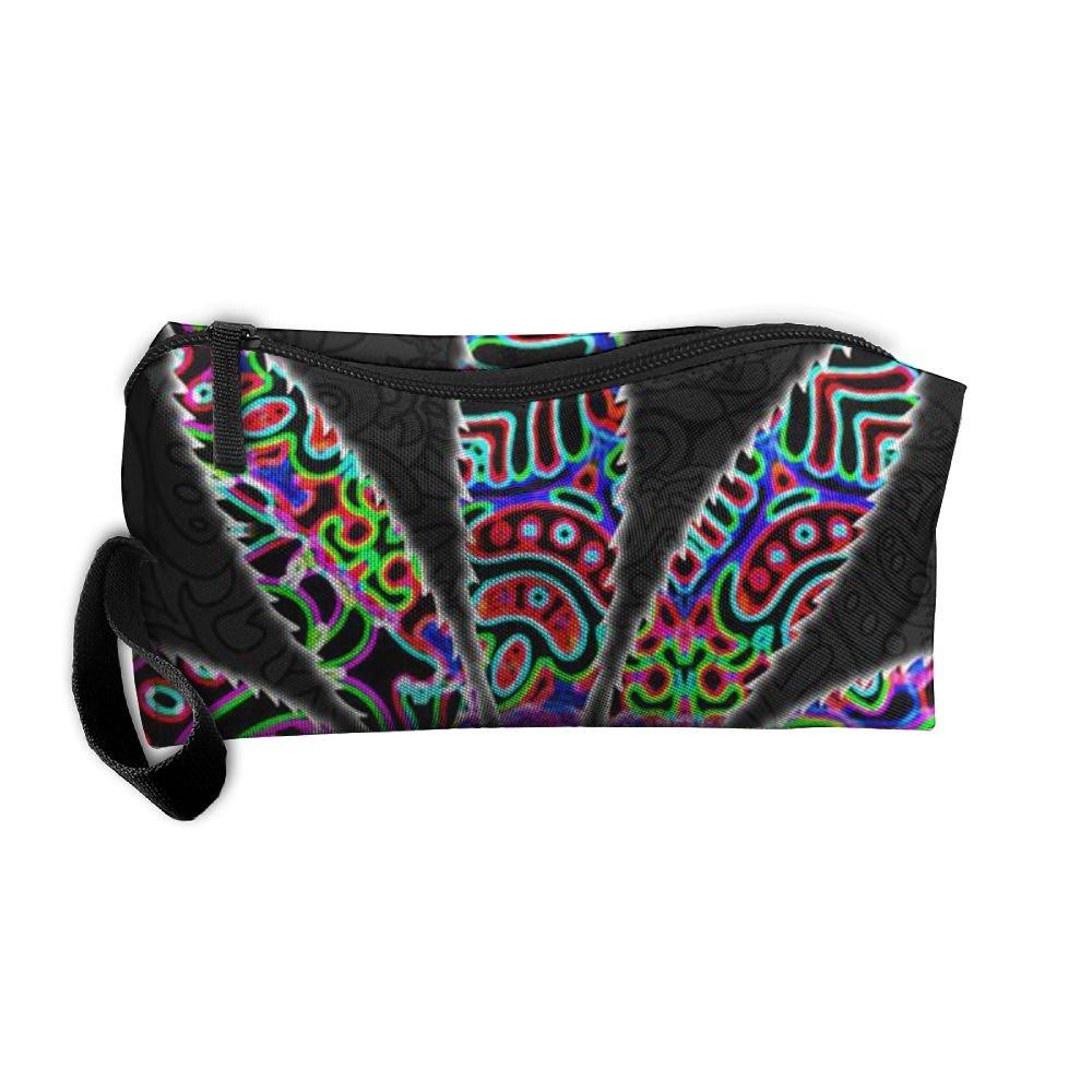 ae1926314a hot sale Cannabis Storage Bag Portable Travel Makeup Bag Pencil Case  Cosmetic Bags