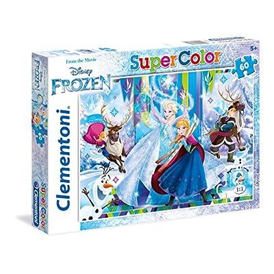 Clementoni Frozen Supercolor Puzzle Multicolore 60 Pezzi 26981