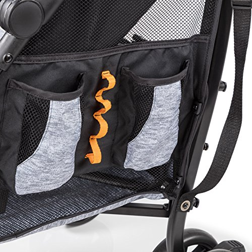 Summer Infant 3Dtote Convenience Stroller, Orange & Heather Gray by Summer Infant (Image #5)