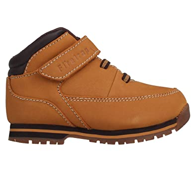 6ccd785896a Amazon.com: Firetrap Kids Infants Rhino Leather Lace up Shoes Boots ...