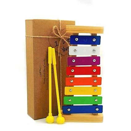 Amazon.com: YYhappy - Xilófono infantil para niños El primer ...