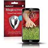 MediaDevil LG G2 Pellicola Protettiva: Crystal Clear (Invisibile) - (2 x Pellicole Frontali) Magicscreen