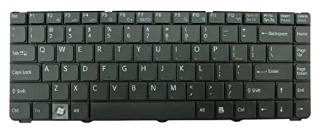 New US Layout Black Keyboard for Sony Vaio PCG-7111L PCG-7112L PCG-