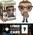 Abby Yates: Funko POP! x Ghostbusters Vinyl Figure + 1 FREE Sci-fi & Horror Movies Trading Card Bundle (076238) | Learning Toys