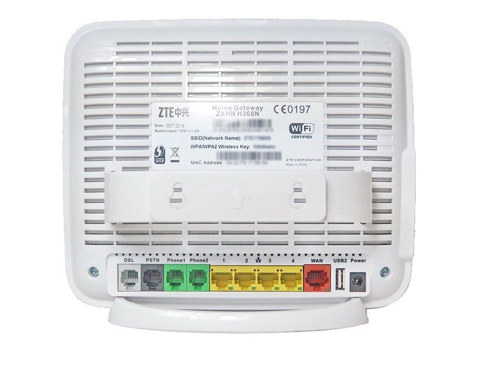 ZTE H368N VDSL/ETH WAN/3G All Gigabit Ports VoIP/USB