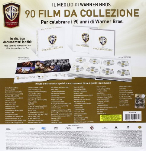 Warner Bros. - 90 Film Da Collezione 100 Dvd+Libro Italia ...