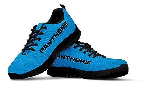 853bb042 Amazon.com : Carolina Panthers Themed Casual Athletic Running Shoe ...