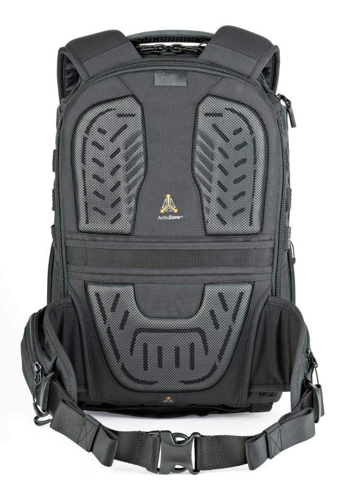 Lowepro ProTactic 350 AW II Black Pro Modular Backpack with All Weather Cover for Laptop Up to 13 Inch, Tablet, Canon/Sony Alpha/Nikon DSLR, Mirrorless CSC and DJI Mavic Drones LP37176-PWW by Lowepro (Image #3)