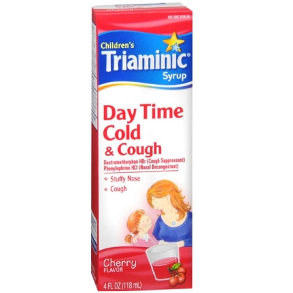 Amazoncom Childrens Triaminic Cold Cough Syrup Day Time Cold