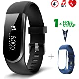 Fitness Tracker [versione aggiornata], CHEREEKI Activity Tracker con monitor pulsazioni cardiache resistente all'acqua Smartwatch Slim Smart Bracelet Compatibile con Android e iOS Smartphones