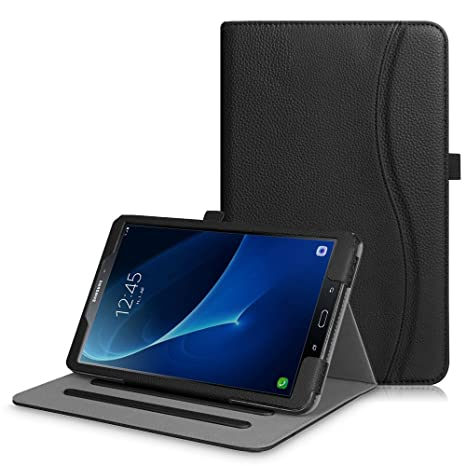 Fintie Hülle für Samsung Galaxy Tab A 10,1 Zoll T580N / T585N Tablet - Multi-Winkel Betrachtung Schutzhülle Cover Case Tasche