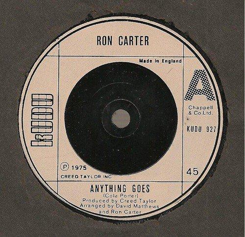 ANYTHING GOES 7 INCH UK KUDU 1975: RON CARTER: Amazon.es: Música