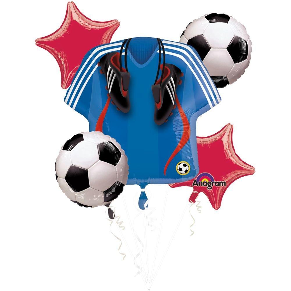 Mayflower BB101284 Soccer Balloon Bouquet