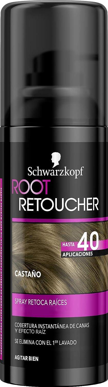 Root Retoucher - Spray Retoca Raíces Color Castaño - 2 uds - Schwarzkopf