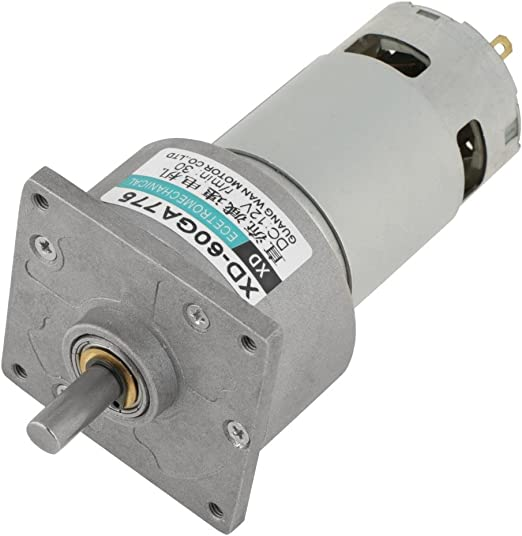 DC Motor 24V 500rpm 12V//24V Micro Motor Metal Gear Motor Speed Adjustable 10-600rpm 35W CW//CCW Low Speed Motor