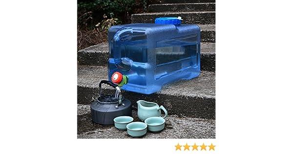 Camping Catering de Benbroo Recipiente de 12 L//18 L//22 L para almacenamiento de agua al aire libre para coche 18L Mesa de caf/é dep/ósito de agua mineral de calidad alimentaria