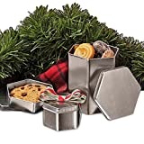 Hexagonal Steel Tin Can 3 3/16'' X 3 3/16'' X 2'' | Quantity: 288