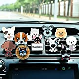 in car air freshener - FANCYLEO Cute Pet Dog Car Diffuser Vent Clip - 10 Pack Car Air Freshener Aromatherapy Essential Oil Car Vent Clip Car Perfume Automobile Air Conditioning Perfumes