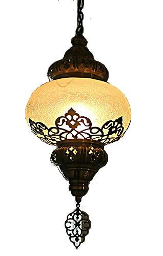 Hängende Lampe, Hängelampe, Marokkanische Lampen,pendelleuchte,Vintage  Leuchte,deckenleuchte,Mundgeblaße