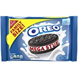OREO Mega Stuf Chocolate Sandwich Cookies, Resealable Family Size Pack