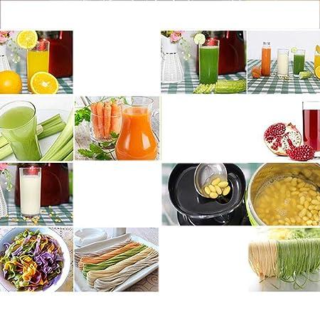 XG-Household El Jugo de la escoria de separación de Gran diámetro exprimidor casero automático de Frutas y Verduras de múltiples Funciones Jugo Crudo Jugo ...