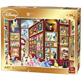 King Disney Art Gallery Puzzle Jigsaw Puzzle (1500 Pieces) Disney Classics