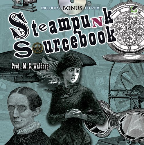 Steampunk Sourcebook (Dover Pictorial Archive) 3