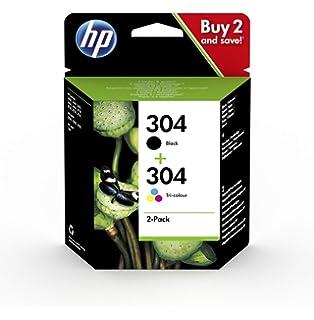 Zambrero Remanufacturado HP 304XL 304 XL Cartuchos de tinta Negro ...