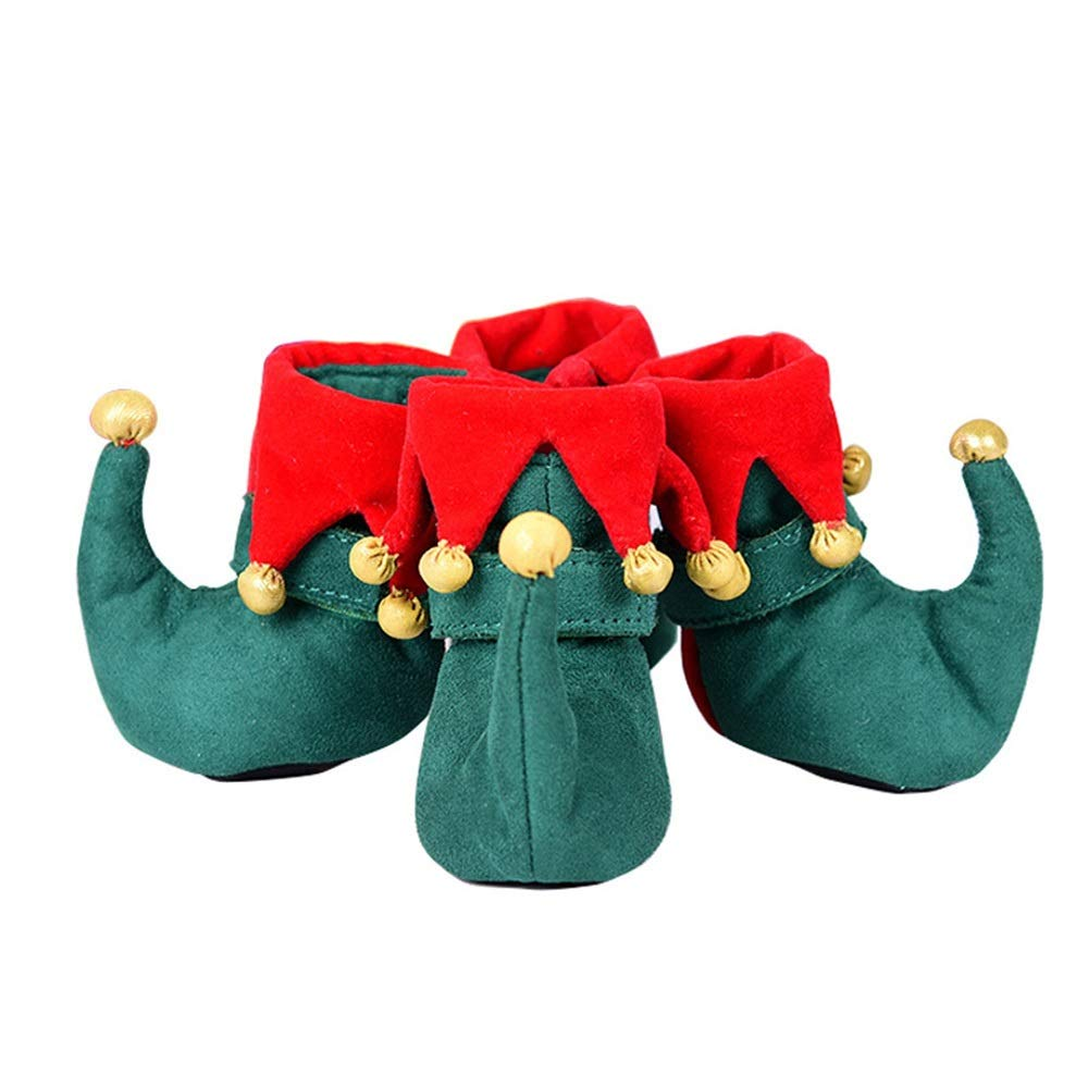 As-picture M As-picture M AUSWIEI Christmas Dog shoes Comfortable Pet shoes (color, Size   M)