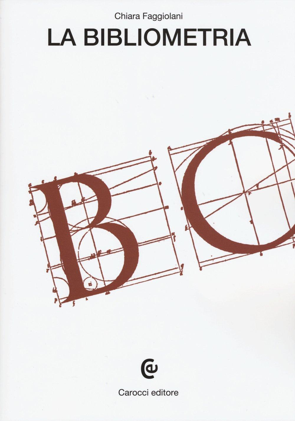 La bibliometria Copertina flessibile – 16 apr 2015 Chiara Faggiolani Carocci 8843076744 Testi scientifici