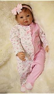 Amazon.es: HOOMAI 22inch 55CM bebé Reborn niñas muñeca ...