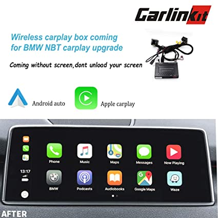 Amazon com: Carlinkit Wireless carplay dongle Box kit