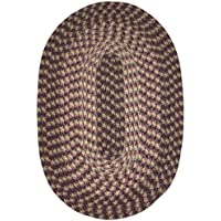 Hometown 24 x 60 (Runner) Braided Rug in Eggplant
