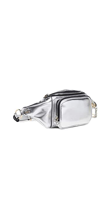 3a839d6dc1db Amazon.com: reTH Women's Riley Belt Bag, Silver, One Size: Shoes