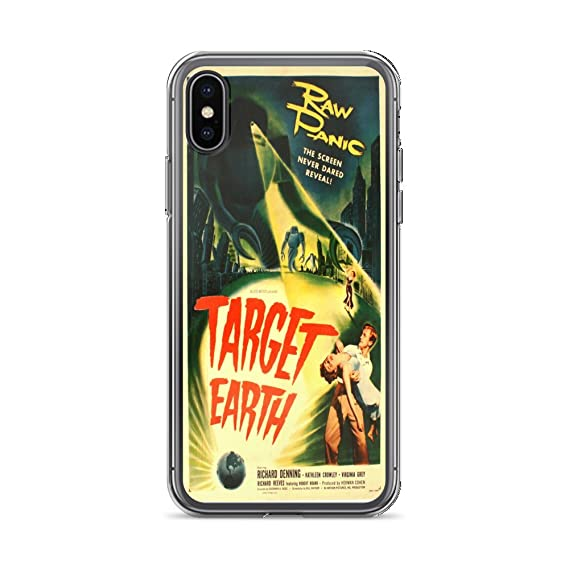 huge selection of 86ff2 2d3b9 Amazon.com: Vintage Poster - Target Earth 1207 - iPhone XR Phone ...
